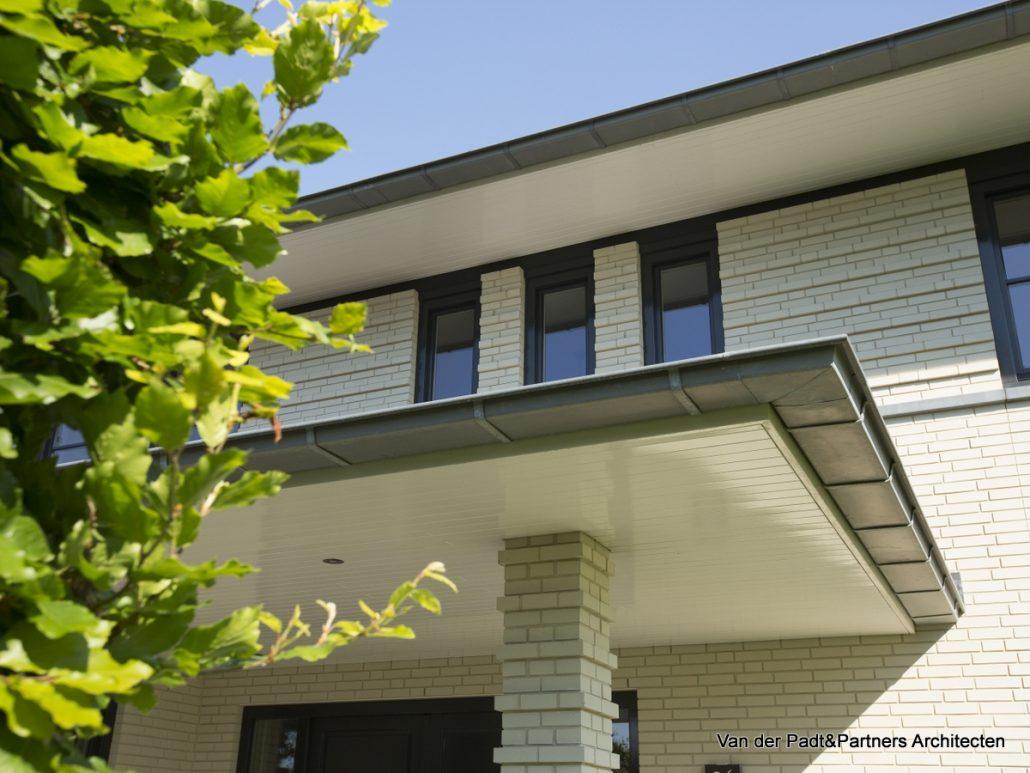 Detaillering villa in Amerikaanse Stijl Van der Padt & Partners Architecten