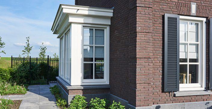 Detaillering classicistische villa Z-wonen
