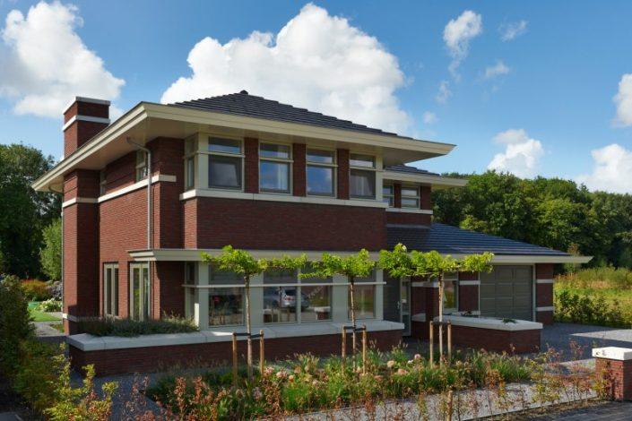 Frank Lloyd Wright villa WnS Architecten