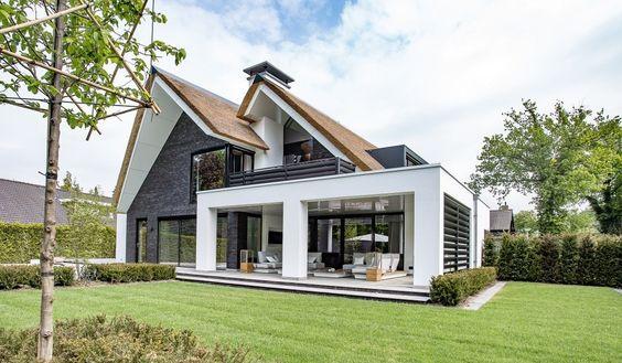 Villa in cottage stijl met een moderne twist Bekhuis & Kleinjan