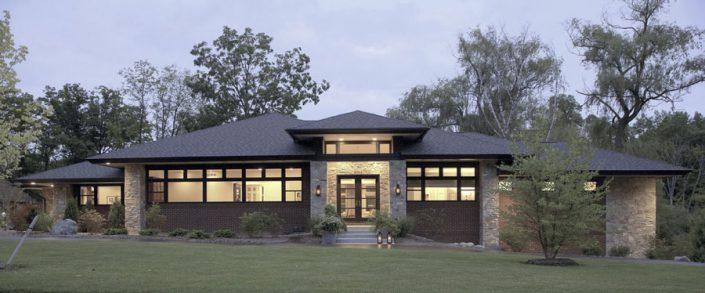 Moderne prairie stijl VanBrouck & Associates