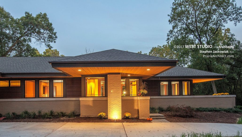 Inspiratie prairie stijl villa parc arcen for Contemporary home architecture styles