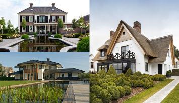 Moodboard Villa Parc Arcen drie stijlen