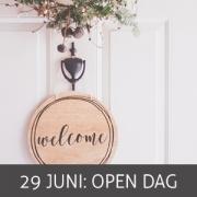 Open dag 29 juni