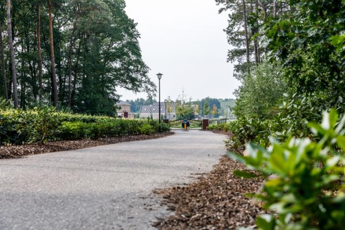 Entree Villa Parc Arcen